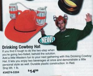 drinking cowboy